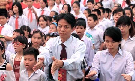 Chuyện ở ngôi trường khai giảng không sáo rỗng