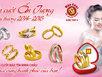 Những mẫu nhẫn mới nhất mùa cưới 2014