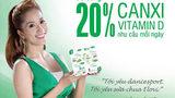 Sữa chua đầu tiên bổ sung 20% Canxi và Vitamin D