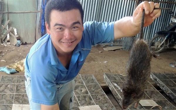 Mỗi ngày, Việt Nam 'ăn' hàng tấn chuột Campuchia