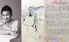 Tiết lộ thơ tình, tranh vẽ tặng vợ của Trọng Tấn