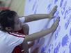 2.500 học sinh in dấu tay tạo kỷ lục bản đồ VN
