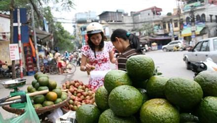 Vỏ trái cây mọng, bóng: Coi chừng bị ủ hóa chất!