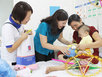 Tâm Bình góp sức mang 'Trung thu hồng' đến bệnh nhi nghèo