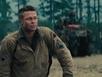 Brad Pitt tái xuất cực ngầu trong phim chiến tranh 80 triệu đô