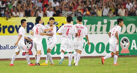 Đè bẹp Myanmar, U19 VN gặp lại U19 Nhật Bản trong trận chung kết giải U19 Đông Nam Á