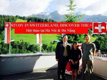 Cơ hội nhận học bổng Học viện HTMi, du học Thụy Sĩ