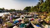 Chợ nổi Cái Răng lọt tốp những chợ nổi đẹp nhất châu Á