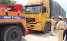 Hà Tĩnh: Bắt tiếp 11 xe quá tải lọt trạm cân nhiều tỉnh
