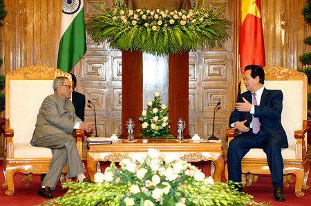 quốc phòng, Ấn Độ, Pranab Mukherjee, đối tác chiến lược, Biển Đông