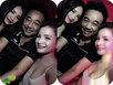 """Bức ảnh """"Ngọc hoàng"""" Quốc Khánh vui vẻ bên 2 cô gái sexy gây xôn xao"""