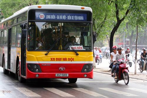 Ngày 6/10, Hà Nội dùng vé tháng điện tử xe buýt