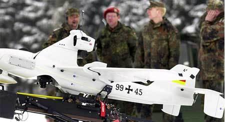 Pháp, Đức sẽ điều máy bay không người lái tới Ukraina
