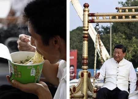 Chủ tịch TQ nhắc dân bớt ăn mì gói khi xuất ngoại