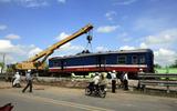 Thông tuyến đường sắt Bắc - Nam sau tai nạn nghiêm trọng