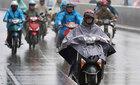 2 ngày cuối tuần, Hà Nội có mưa rào và dông