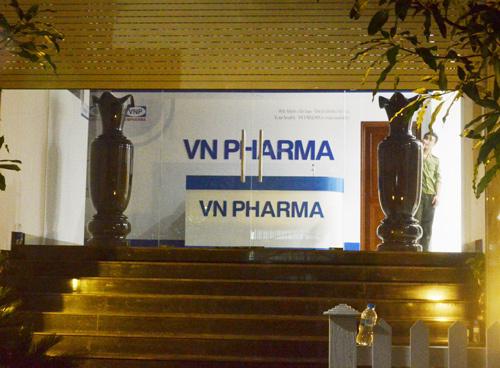 VN Pharma, lên tiếng, Tổng giám đốc, bị bắt