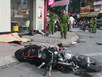 Người nước ngoài tử nạn vì đâm xe trên phố Sài Gòn