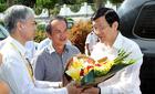 Chủ tịch nước Trương Tấn Sang biểu dương Bệnh viện Đại Học Y Dược HAGL