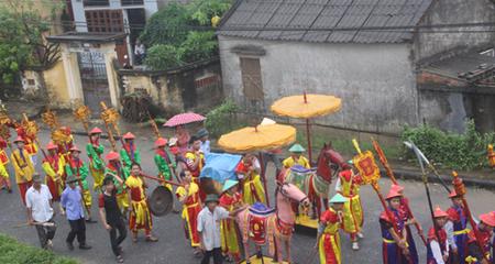 Độc đáo lễ hội Đình Bái năm năm tổ chức một lần