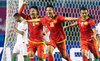 Olympic Việt Nam hiên ngang vào vòng 1/8