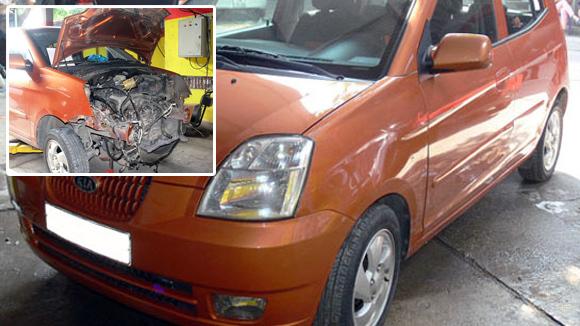 'Hóa kiếp' xe tại nạn để bán: Ôm họa mua ô tô cũ