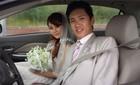 """Chồng sắp cưới Lê Thúy """"lộ"""" ảnh cưới trong quá khứ"""