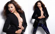 Người đẹp Việt đua nhau mở cúc khoe ngực