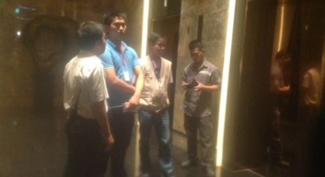 Hà Nội: Thang máy  Lotte Center rơi tự do từ tầng 63