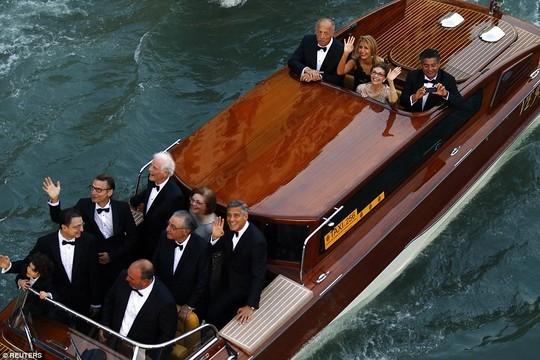 Đám cưới hoành tráng của George Clooney