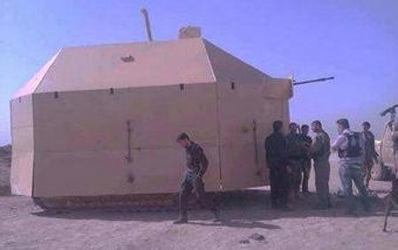 Lạ mắt vũ khí tự chế để chống IS