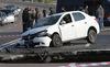 Xe rơi xuống hố tử thần ở Crưm, 6 người chết