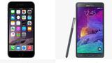 Samsung run cóng vì iPhone 6?