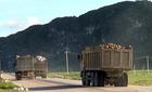 """""""Lãnh địa' của hàng trăm chuyến xe quá tải"""