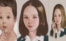 Khắc hoạ 80 năm cuộc đời người phụ nữ qua tranh vẽ tay