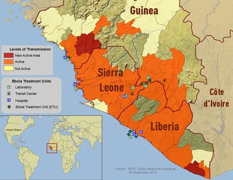 Ebola đã lan tới Mỹ