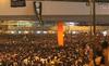 Hàng chục ngàn người thắp sáng đêm Hong Kong