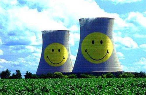 biến đổi khí hậu, điện hạt nhân, hiệu ứng nhà kính