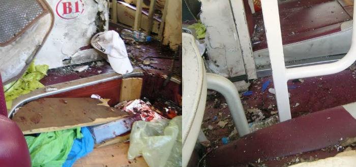 Tài xế kể lại vụ nổ trên xe giường nằm