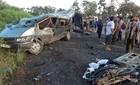 Xe khách gây tai nạn thảm khốc, 13 người thương vong