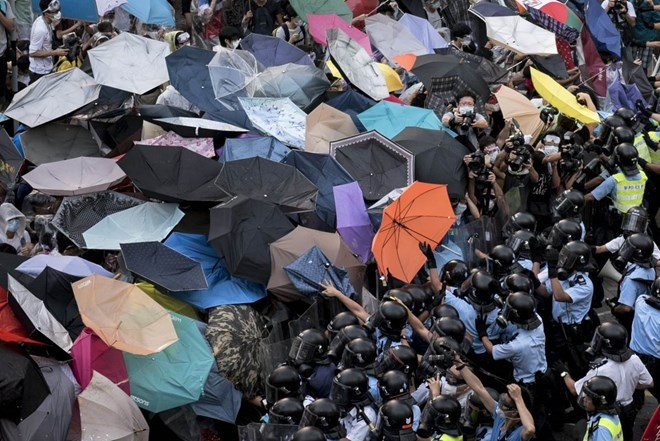 TQ: Biểu tình ở Hong Kong 'không liên quan' Mỹ
