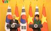 Tổng bí thư hội đàm với Tổng thống Hàn Quốc