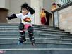 Thiên thần Sài Gòn 3 tuổi điêu luyện với môn trượt patin