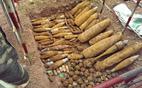 Quảng Trị:  Phát hiện hầm bom khủng ở cửa khẩu Lao Bảo