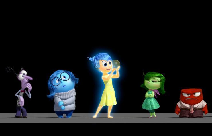 'Inside Out' , hoạt hình , Pixar, Disney
