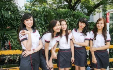 Học viện Ngoại giao, Học viện hàng không, ĐH Ngoại thương, ĐH Công nghiệp TPHCM, ĐH Duy Tân