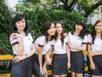 Đồng phục 'đẹp long lanh' của sinh viên đại học