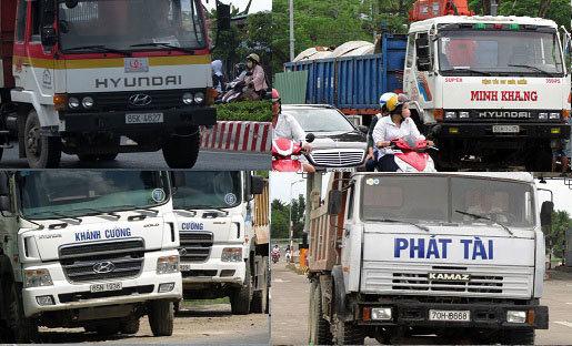 Xử lý xe quá tải 'giết' đường: Không có vùng cấm!