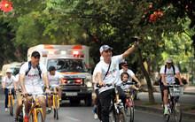Cùng các nhà ngoại giao đạp xe vì môi trường