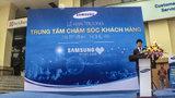 Thêm một địa chỉ chăm sóc khách hàng VIP của Samsung